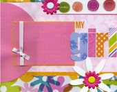 My Girl - 12x12 Premade Scrapbook Page