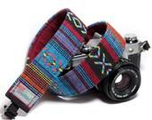 Tribal Camera Strap - Southwestern Strap - Osage