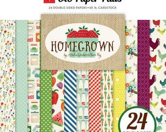 Echo Park Homegrown 6x6 Paper Pad
