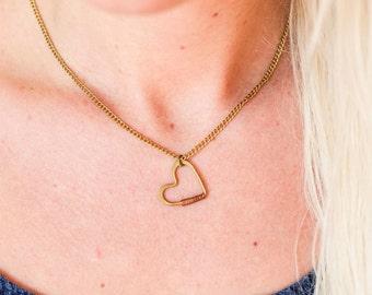 Fair trade Heart Necklace