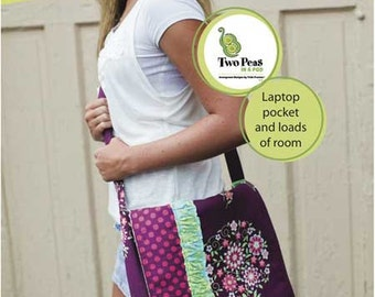 Sprouts MARY BETH MESSENGER Bag Quilting Sewing Pattern Two Peas in a Pod