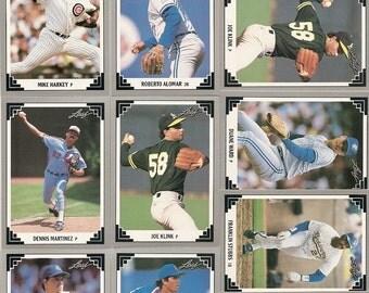132 Old VINTAGE 1991 LEAF BASEBALL Picture Cards