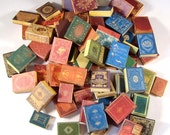 Miniature Book Covers Set 2 1:12 Scale Downloadable Printable Covers Do It Yourself Dollhouse Books