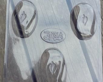 Sculpted Bar Soap Mold