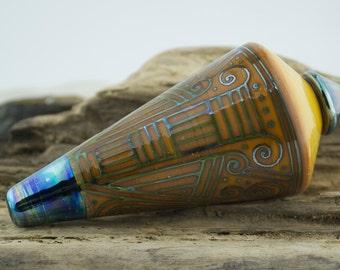 Alive Glass -  Ivory / Triton Pendulum