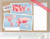 INSTANT DOWNLOAD - Can You Call 'The Call'? Sister Missionary Mission Guessing Poster Printable - Coral Pink