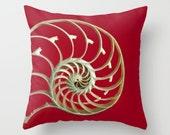 Nautilus Pillow