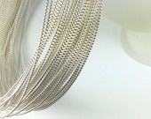 1 foot of 14 gauge Droplet Wire Sterling Silver , great for rings and all sorts of  hoops