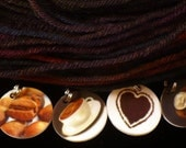 COFFEE lovers round stitchmarkers for KNITTERS or CROCHETERS