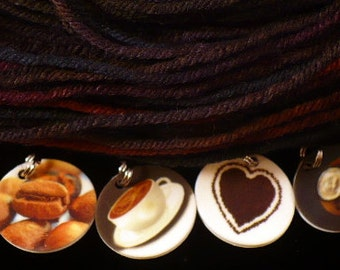 STITCHMARKERS for KNITTERS or CROCHETERS, Coffee Lovers