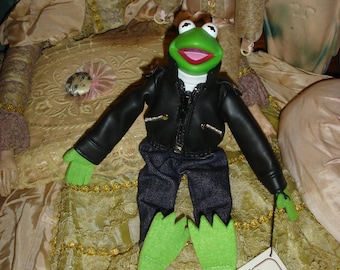 "Muppets Kermit the Frog 9"" The Green Machine Doll"