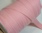 Pink Ribbon, Baby Pink Twill Tape  Ribbon 3/4 inch wide x 10 yards