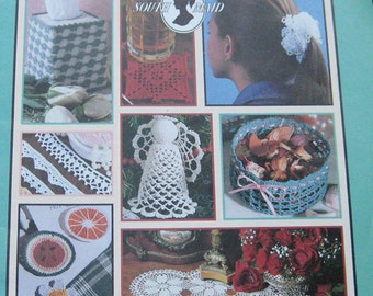 Beautiful Bazaar Projects Crochet Pattern Book Leisure Arts