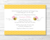 Cute Pink Bumble Bee Baby...