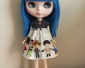 Kawaii children Blythe dress