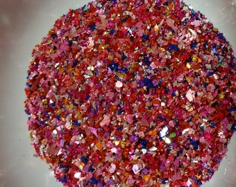 German Glass Glitter - Ruby Glimmer