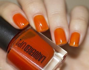 Sunset// Handmade Orange Nail Polish//Jelly, Sheer, Tinted// Cruelty Free