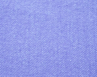 vintage 80s purple denim, 1 yard