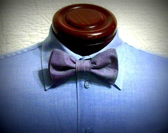 purple mens bow tie, pre-tied bow tie, boys bow tie, toddler bow tie, baby bow tie, 2 for 25, adjustable neck bow tie