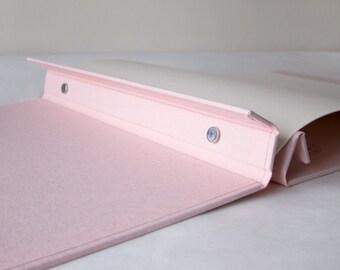 Custom Portfolio Book - Post Bound Cloth Covered Album - Any Size