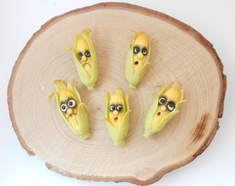 Fantasy vegetables with faces - CORN