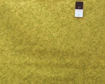 Free Spirit Designer Instincts Dapples Olive Cotton Fabric 1 Yd