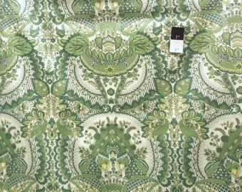 Amy Butler SNAB002 Alchemy Flora Bamboo Cotton Sateen Bliss Fabric 1 Yard