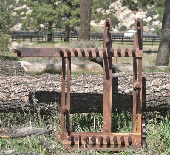 Card / Inkle weaving loom - 100 percent mahogany/maple/walnut/cherry 22 yard warp
