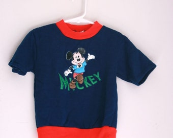 Vintage Mickey Mouse childs sweatshirt 4/5t