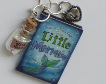Little Mermaid, Key Ring Personalized