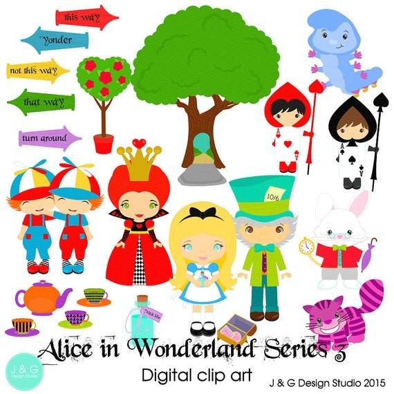 alice in wonderland clip art download - photo #36