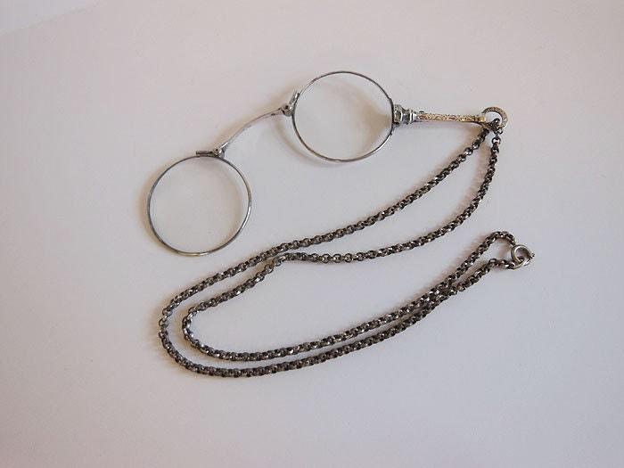 antique glasses antique sterling monocle by