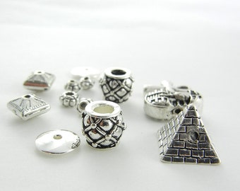 Set of Egyptian Themed Beads