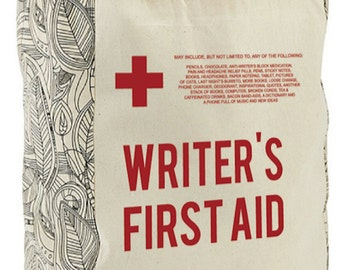 Writer's First Aid Tote
