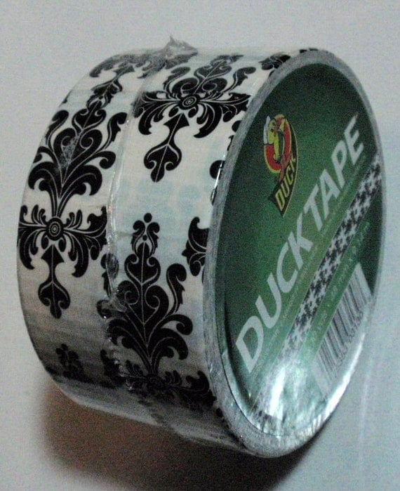 Duck Tape Roll Baroque Damask Very Rare and Discontinued Best Price on the Net