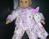 Bitty Bunny.. I love Grandma Pajama set w/ Lovie &Slippers..Free Shipping