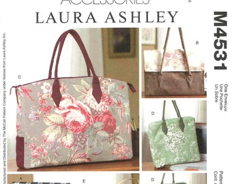 McCall's 4531 Laura Ashley Business Bags - PATTERN