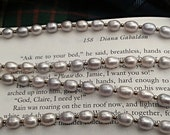 Outlander Necklace - Claire's Pearl Necklace - Diana Gabaldon Inspired - Outlander Wedding Necklace - Outlander Themed Jewelry