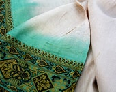 Silk Sari for Eco Dyeing 5 kilo Bundle , White Silk and Assorted Light Color Saree Lot