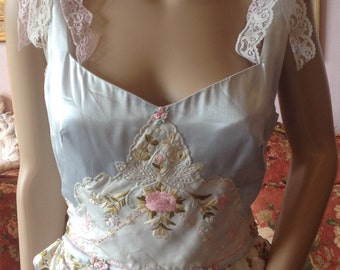 Midsummers Night Dream Dress...Vintage Embellished Dress by BohoChick