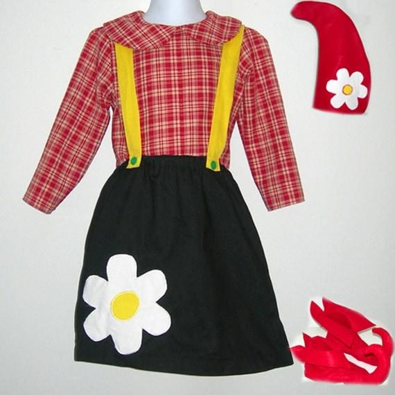 Handmade Girlie Garden Gnome Costume