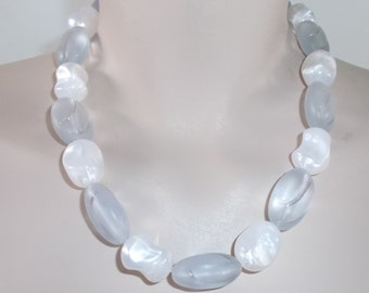 1960s Vintage Moonstone Necklace by Monet