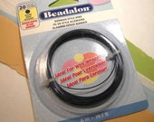German Style Hematite Color Round 20 Gauge Wire from Beadalon - 1 Package (19.7 ft.)