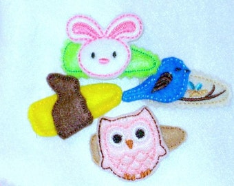 Assorted Hair clips Hair barrette Buy one or several #141