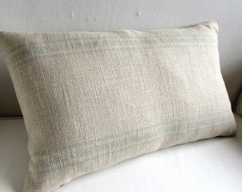 FRENCH LAUNDRY 16x26 Pillow cover SPA Stripes