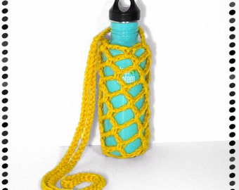 Water Bottle Sling, Yellow or ANY COLOR