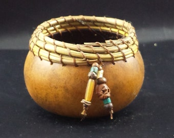 Small Pine Needle Gourd Bowl