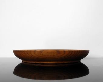 Small Teak Bowl / Mid Century / Vintage