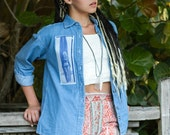 Denim Shirt Outfit Surfer Girl was 44.00 NOW 22.00