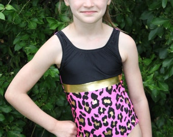 The Lakehouse Swimsuit Leotard sizes 1/2- 16 PDF sewing pattern